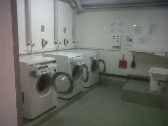 Actual Laundry place