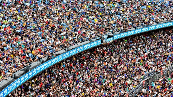 The great Camp Nou by Ekansh Saxena on Unsplash