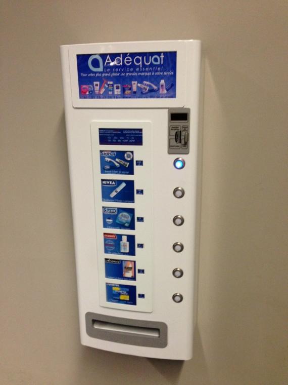 Weird vending machine at Basel Airport by Passainte Assem
