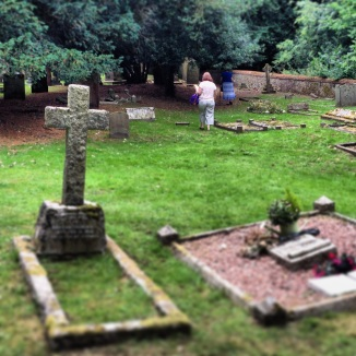 The cemetery from inside - Caption taken by me