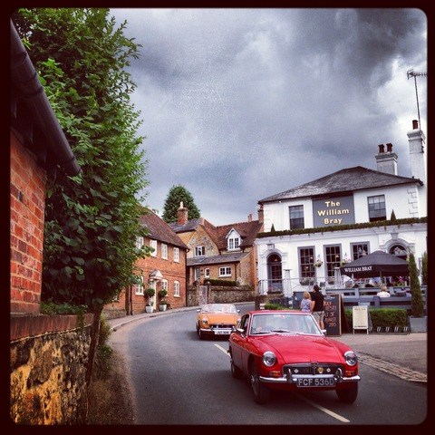"Shere, Guilford, Surrey in England (where ""the Holiday"" was filmed) - Caption taken by me"