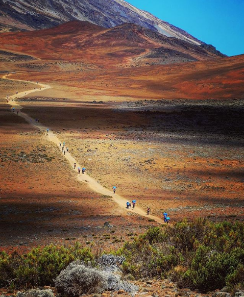 Alpine Desert of Mt. Kilimanjaro courtesy of Passainte Assem